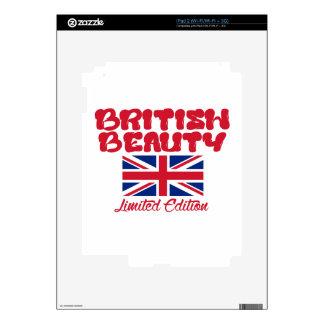 Diseños BRITÁNICOS de la belleza Skins Para iPad 2