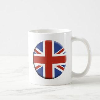 Diseños BRITÁNICOS del círculo de la bandera de Un Tazas De Café