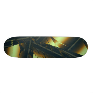Diseños calientes de Frac de Leslie Harlow - oro o Monopatín