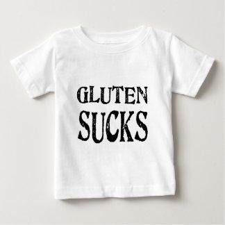 Diseños celiacos libres del gluten ninguna manera playera de bebé
