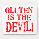 Diseños celiacos libres del gluten ninguna manera tapetes de raton