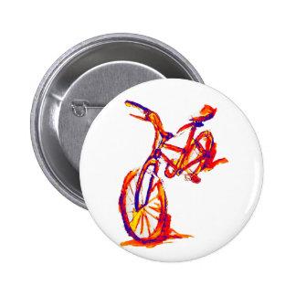 Diseños coloridos de la bici pins