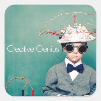 Diseños creativos del genio colcomanias cuadradases