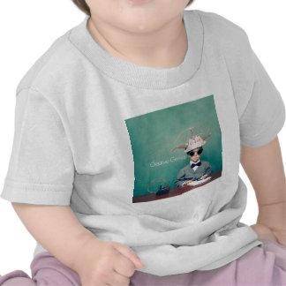 Diseños creativos del genio camisetas