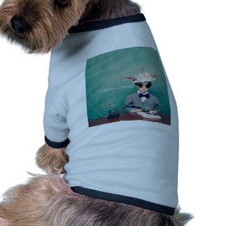 Diseños creativos del genio camiseta de mascota