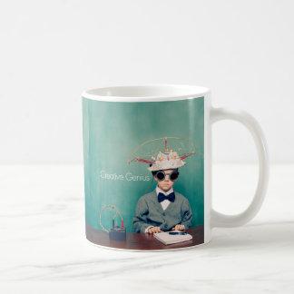 Diseños creativos del genio tazas de café