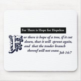 diseños cristianos de la esperanza alfombrilla de ratón