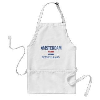 Diseños de Amsterdam Países Bajos Delantales