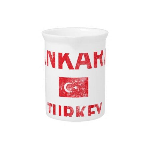 Diseños de Ankara Turquía Jarron