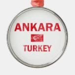 Diseños de Ankara Turquía Ornamento De Navidad