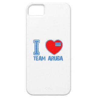 Diseños de Aruban iPhone 5 Case-Mate Funda