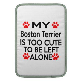 Diseños de Boston Terrier Fundas Macbook Air