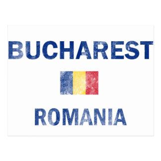 Diseños de Bucarest Rumania Tarjetas Postales