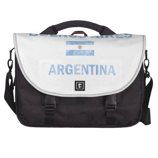 Diseños de Buenos Aires la Argentina Bolsas De Ordenador