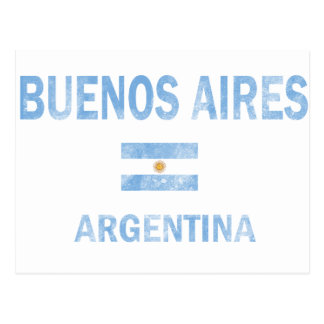 Diseños de Buenos Aires la Argentina Tarjeta Postal