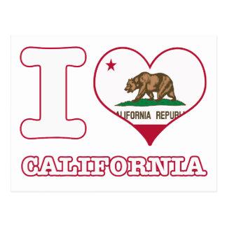 Diseños de California Postales