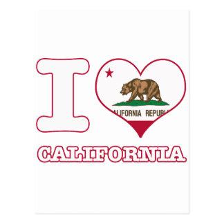 Diseños de California Tarjeta Postal
