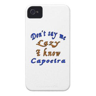 Diseños de Capoeira iPhone 4 Carcasa