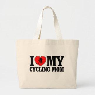 diseños de ciclo frescos de la mamá bolsa tela grande