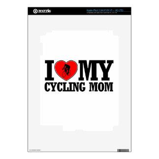 diseños de ciclo frescos de la mamá iPad 3 pegatinas skins