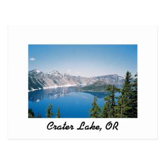 Diseños de CraterLake Tarjeta Postal