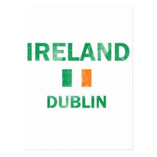 Diseños de Dublín Irlanda Postal