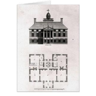 Diseños de Inigo Jones, 1727 Tarjeta De Felicitación