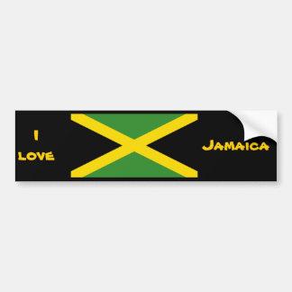 Diseños de Jamaica Pegatina Para Auto