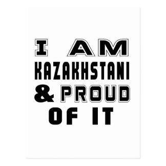 DISEÑOS DE KAZAKHSTANI POSTALES