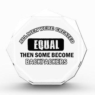 Diseños de la afición de los Backpackers
