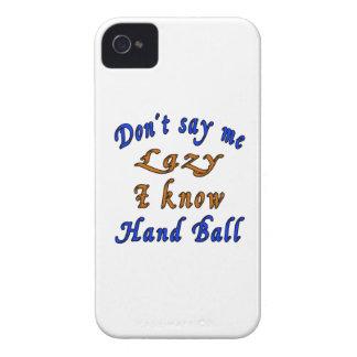 Diseños de la bola de mano iPhone 4 Case-Mate cárcasas