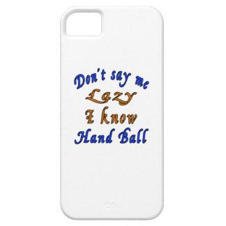 Diseños de la bola de mano iPhone 5 Case-Mate protectores