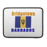 Diseños de la capital de Bridgetown Barbados Fundas Para Macbook Pro