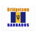 Diseños de la capital de Bridgetown Barbados Postal