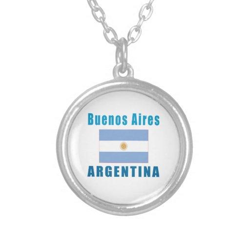 Diseños de la capital de Buenos Aires la Argentina Joyeria Personalizada