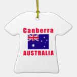 Diseños de la capital de Canberra Australia Ornamento De Navidad