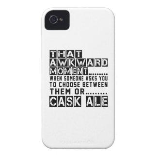 Diseños de la cerveza inglesa del barril iPhone 4 cárcasa