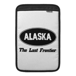 DISEÑOS de la ciudad de ALASKA Funda Para Macbook Air