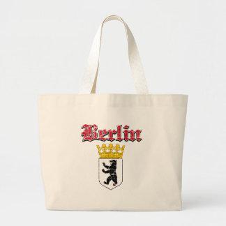Diseños de la ciudad de Berlín Bolsa Tela Grande