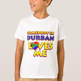 Diseños de la ciudad de Durban Playera