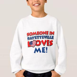 Diseños de la ciudad de Fayetteville Sudadera
