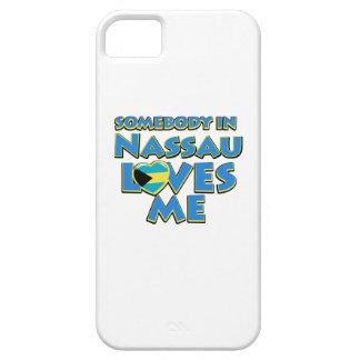 Diseños de la ciudad de la bandera de Nassau Funda Para iPhone 5 Barely There