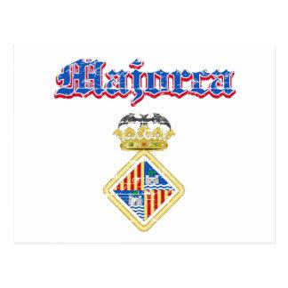 Diseños de la ciudad de Majorca Postal