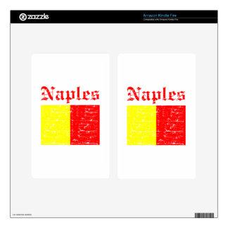Diseños de la ciudad de Nápoles Skin Para Kindle Fire