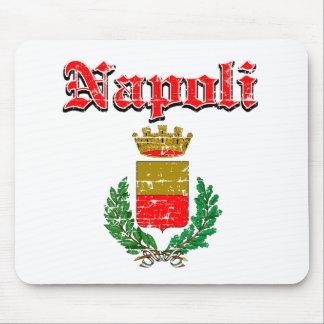 Diseños de la ciudad de Napoli Tapetes De Ratón