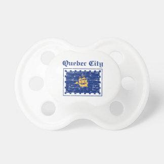 Diseños de la ciudad de Quebec Chupetes