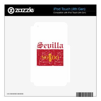 Diseños de la ciudad de Sevilla iPod Touch 4G Calcomanía