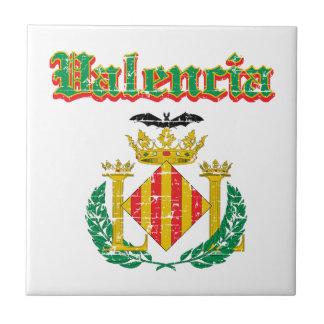 Diseños de la ciudad de Valencia Azulejo Ceramica