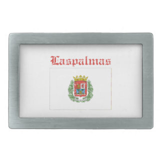 Diseños de la ciudad del Las Palmas Hebillas De Cinturon