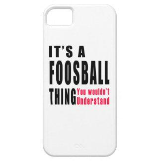 Diseños de la cosa de Foosball iPhone 5 Protectores